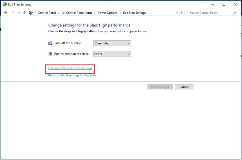 how to change power settings windows 8