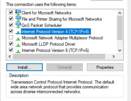 Internet Protocol Version 4