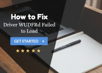 Driver WUDFRd Failed to Load