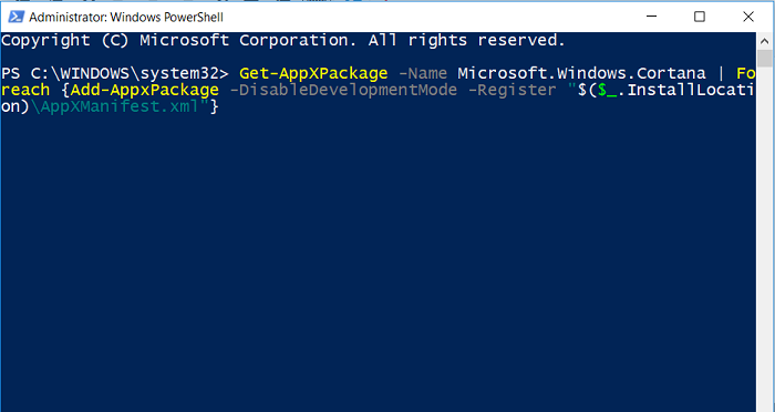Type Command in Windows PowerShell