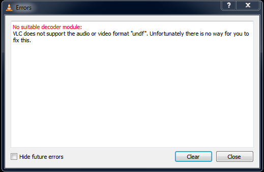 4 Ways to Fix VLC Does Not Support UNDF Format - ValidEdge