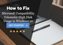 Microsoft Compatibility Telemetry High Disk Usage in Windows 10