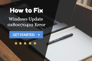Windows Update 0x80070422 Error