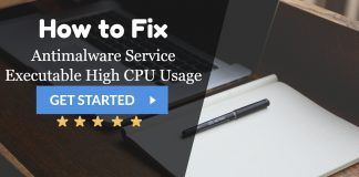 Antimalware Service Executable High CPU Usage