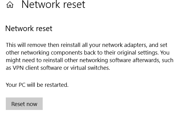 2018 Fix: Unidentified Network No Internet Access in Windows
