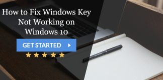 Windows Key Not Working on Windows 10