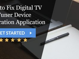 5 Ways to Fix Digital TV Tuner Device Registration Application