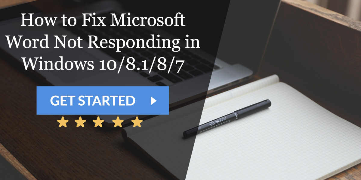 7 Ways To Fix Microsoft Word Not Responding in Windows 10