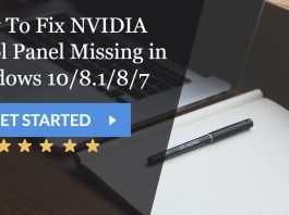 How To Fix NVIDIA Control Panel Missing in Windows 10/8.1/8/7