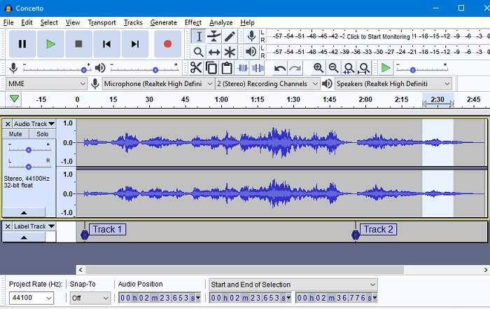 Audacity - Best Free Music Making Software