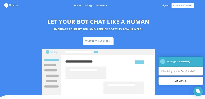 Botsify - Best AI Chatbot Platforms