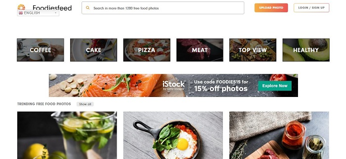 FoodiesFeed - Top 10 Free Stock Photo Sites