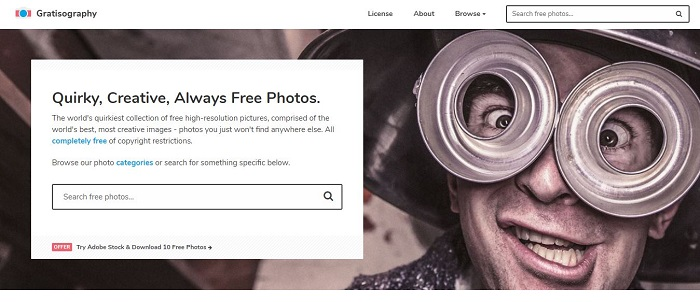 Gratisography - Top 10 Free Stock Photo Sites