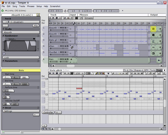 Temper - Best Free Music Making Software