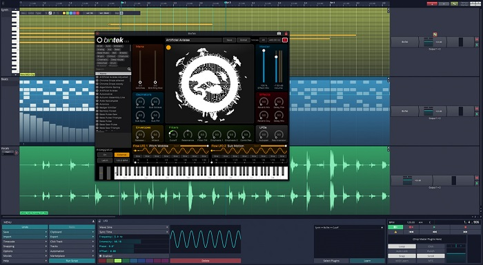 Tracktion T7 - Best Free Music Making Software