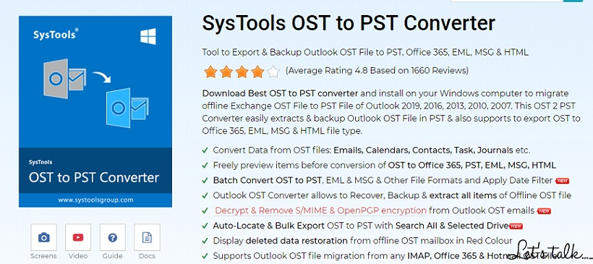 Systools OST to PST Converter
