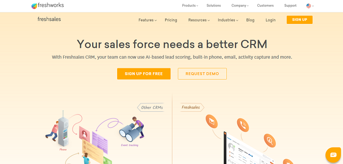 Freshsales CRM Software