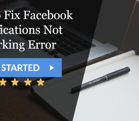 How to Fix Facebook Notifications Not Working Error