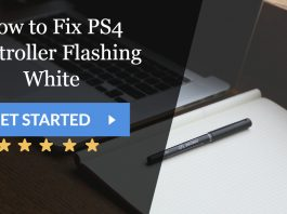 How to Fix PS4 Controller Flashing White
