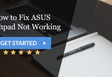 How to Fix ASUS Touchpad Not Working