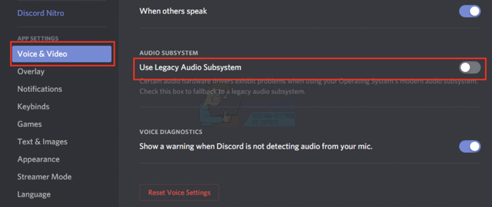 use legacy audio subsystem