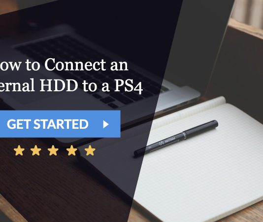 how to connect an external hdd to a ps4
