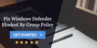 fix windows defender blocked by group policy