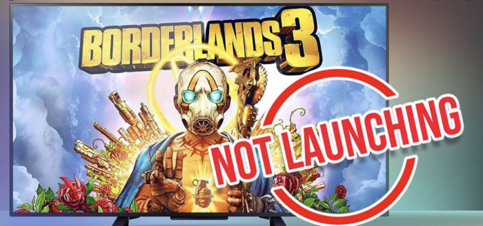 borderlands 3 not launching
