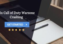 fix call of duty warzone crashing