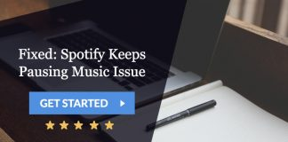 fixed: spotify keeps pausing music issue