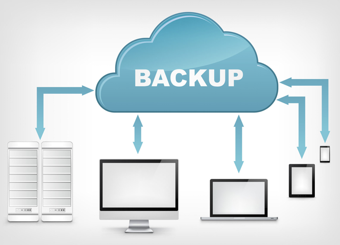 use the data backup
