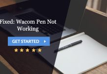 fixed: wacom pen not working